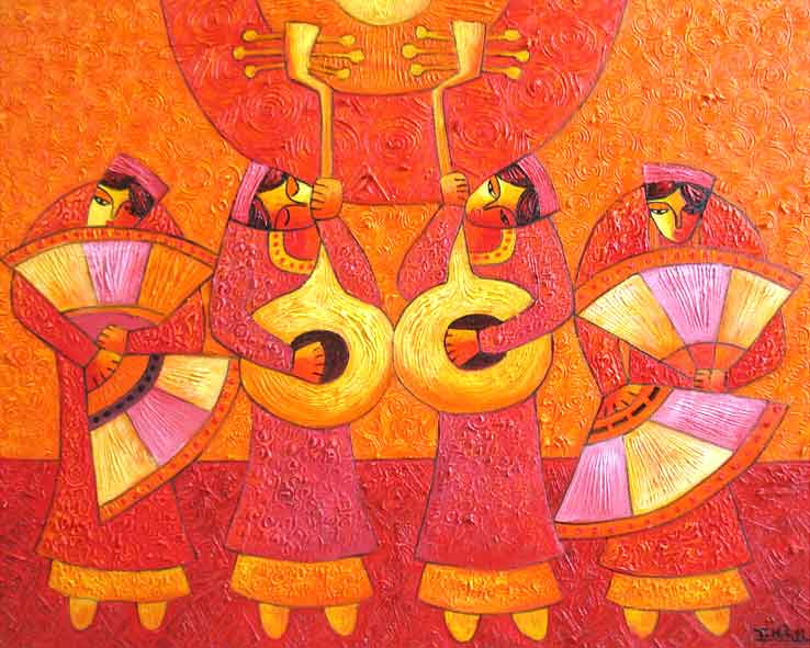 (ID.-19)--Title.-Tradition-melody-2,-Size.-81x100cm,-Price..
