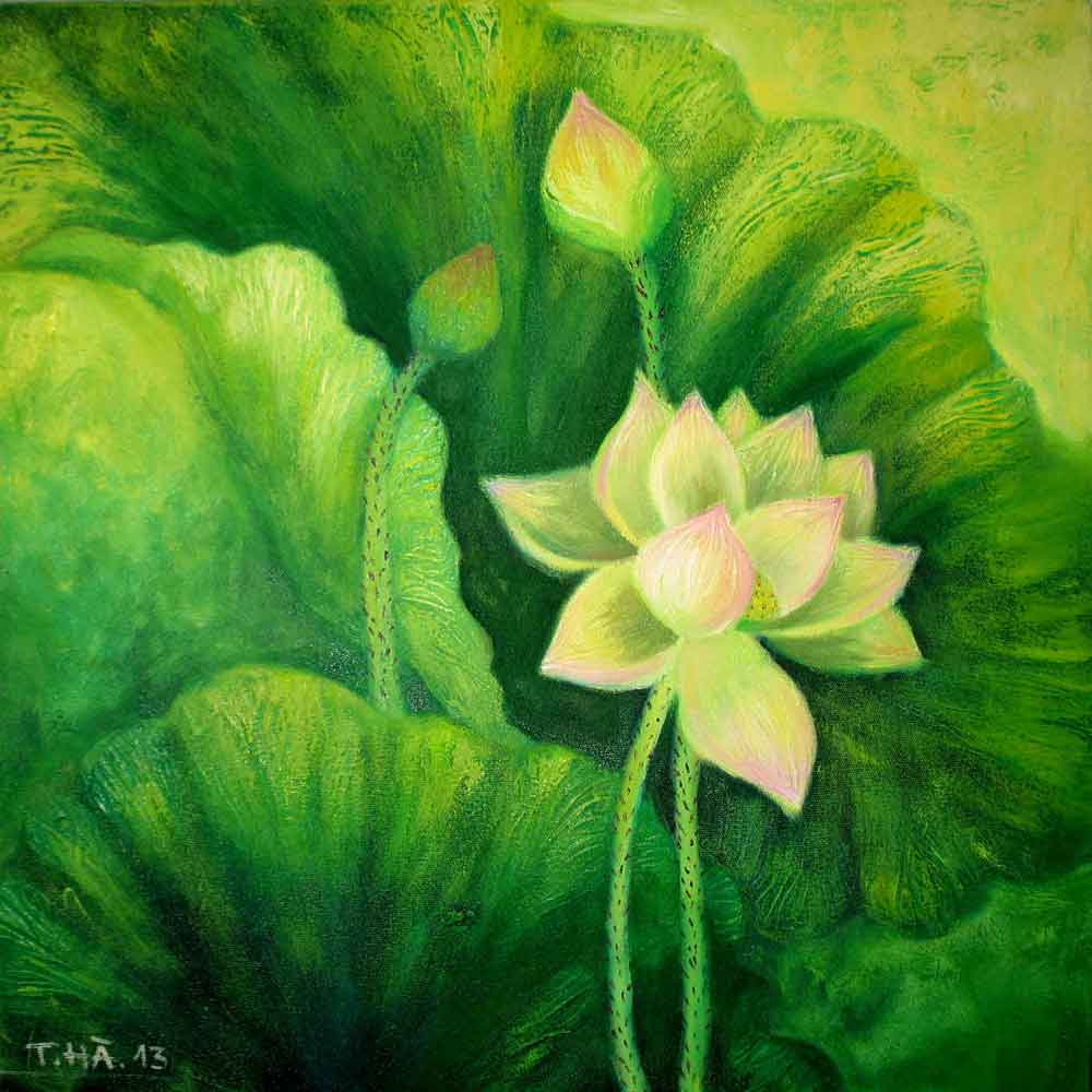 ID.-61,---Title.-The-lotus-4,-size.-61x61cm,-price.