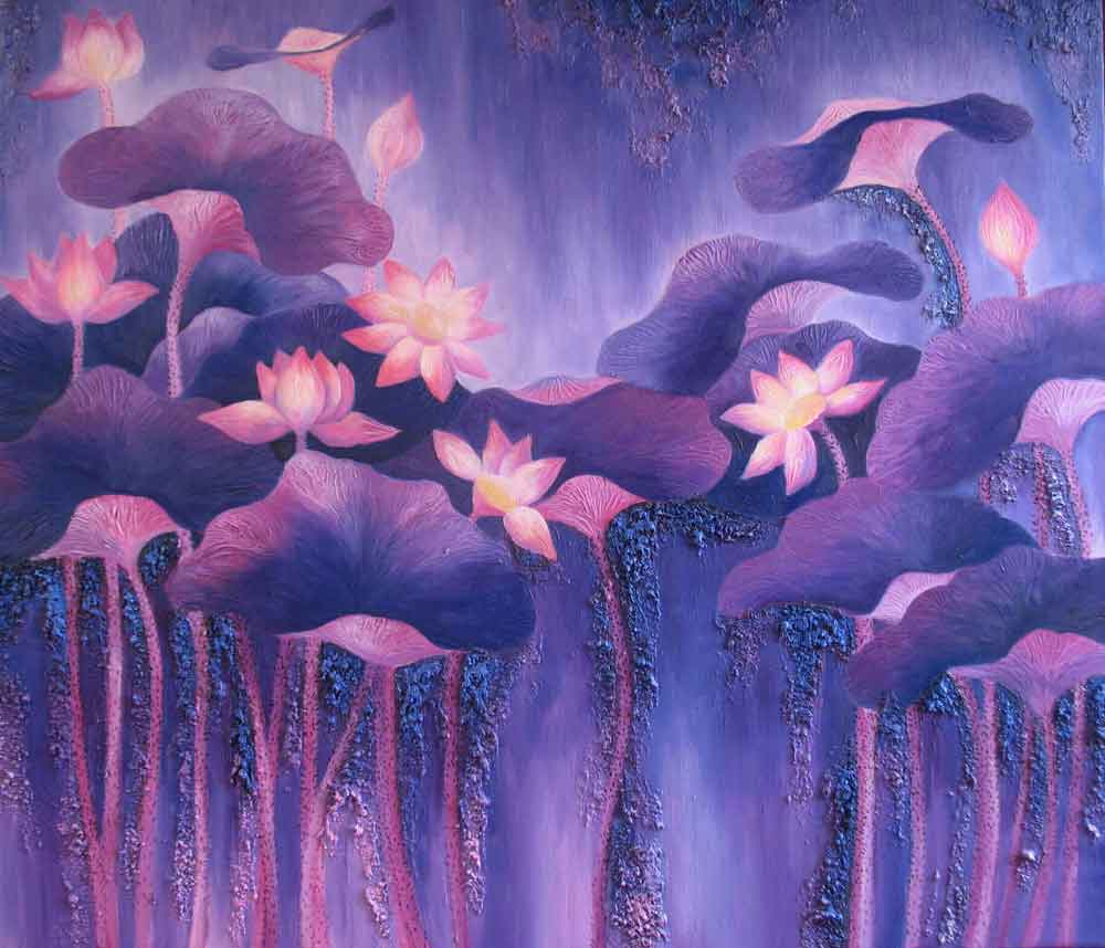 ID.43-,---Title.-The-lotus-2,-size.-120x140cm,-price.